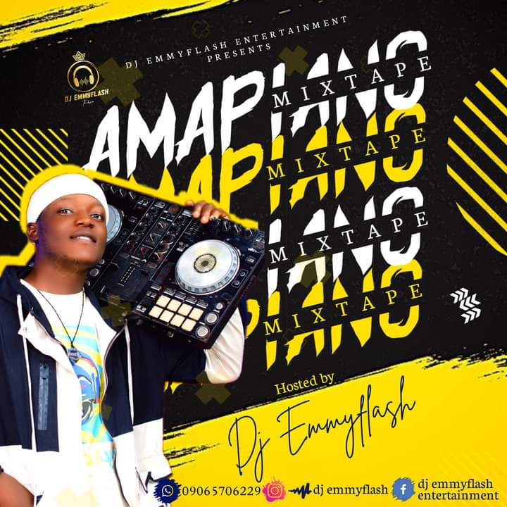DJ Emmyflash - Amapiano Mixtape
